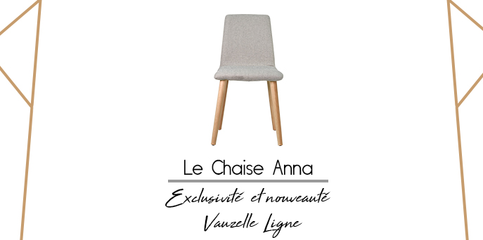 couverture chaise Anna