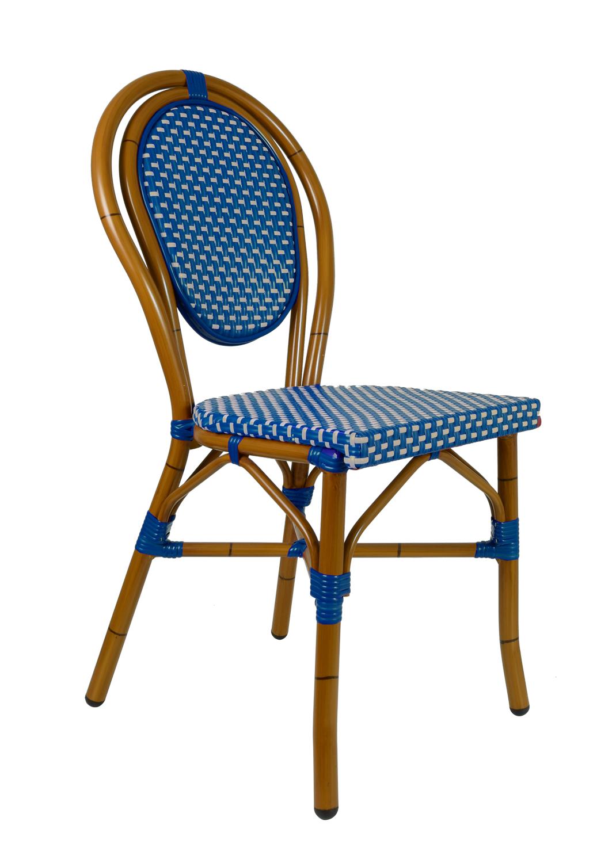 Chaise Rousseau Bleue